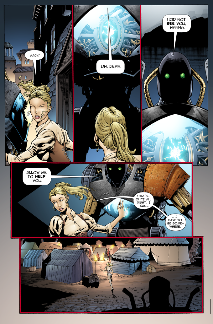 The Gilded Age - Issue #1 - Page 4 - Pencils - Sheldon Mitchell - Inks -Rich Perotta - Colors - Thomas Chu