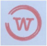 Wine stain logo