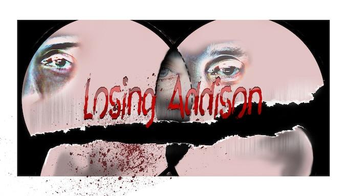 concept art for Losing Addison branding