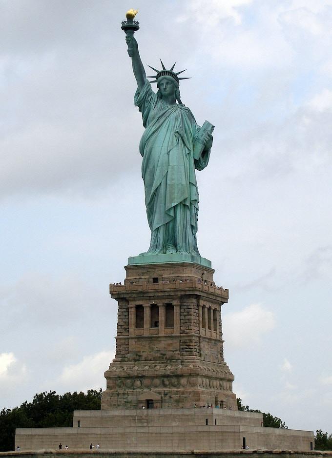 Lady Liberty - the original crowdfunding muse
