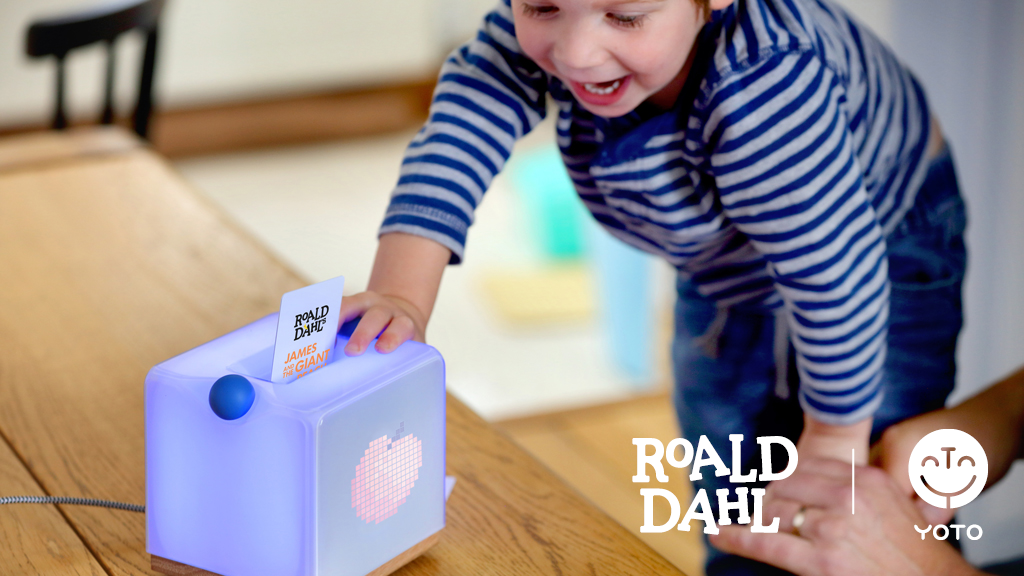 Yoto: A clever speaker for kids. New - Roald Dahl content. project video thumbnail