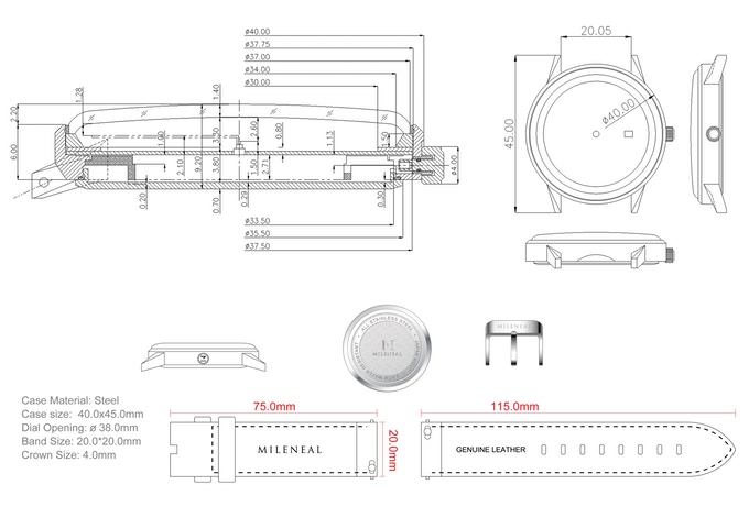 Product Technical Drawings