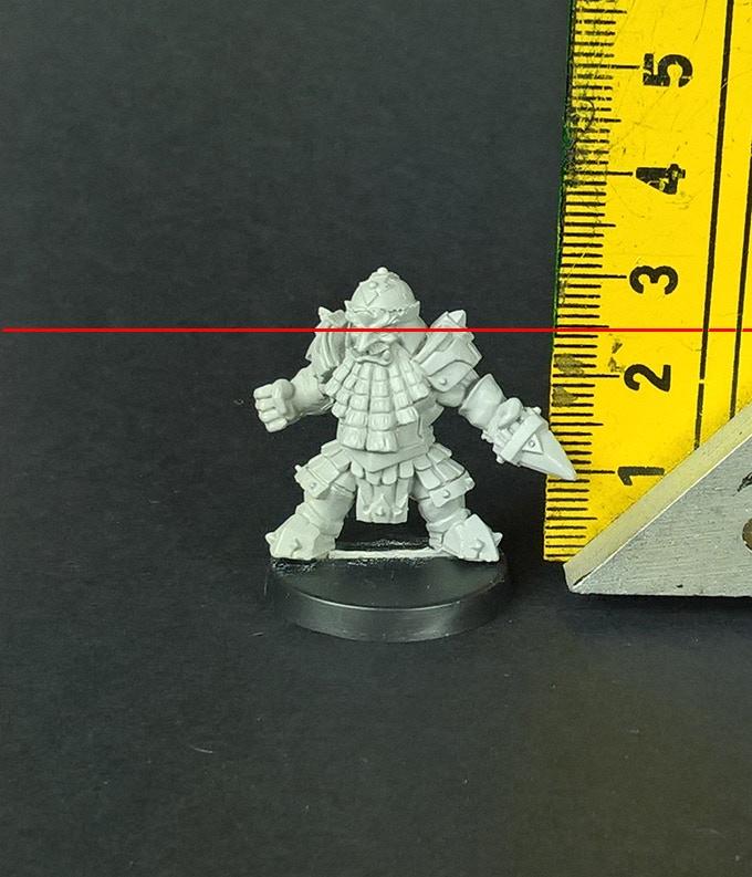 dwarf size is millimeters
