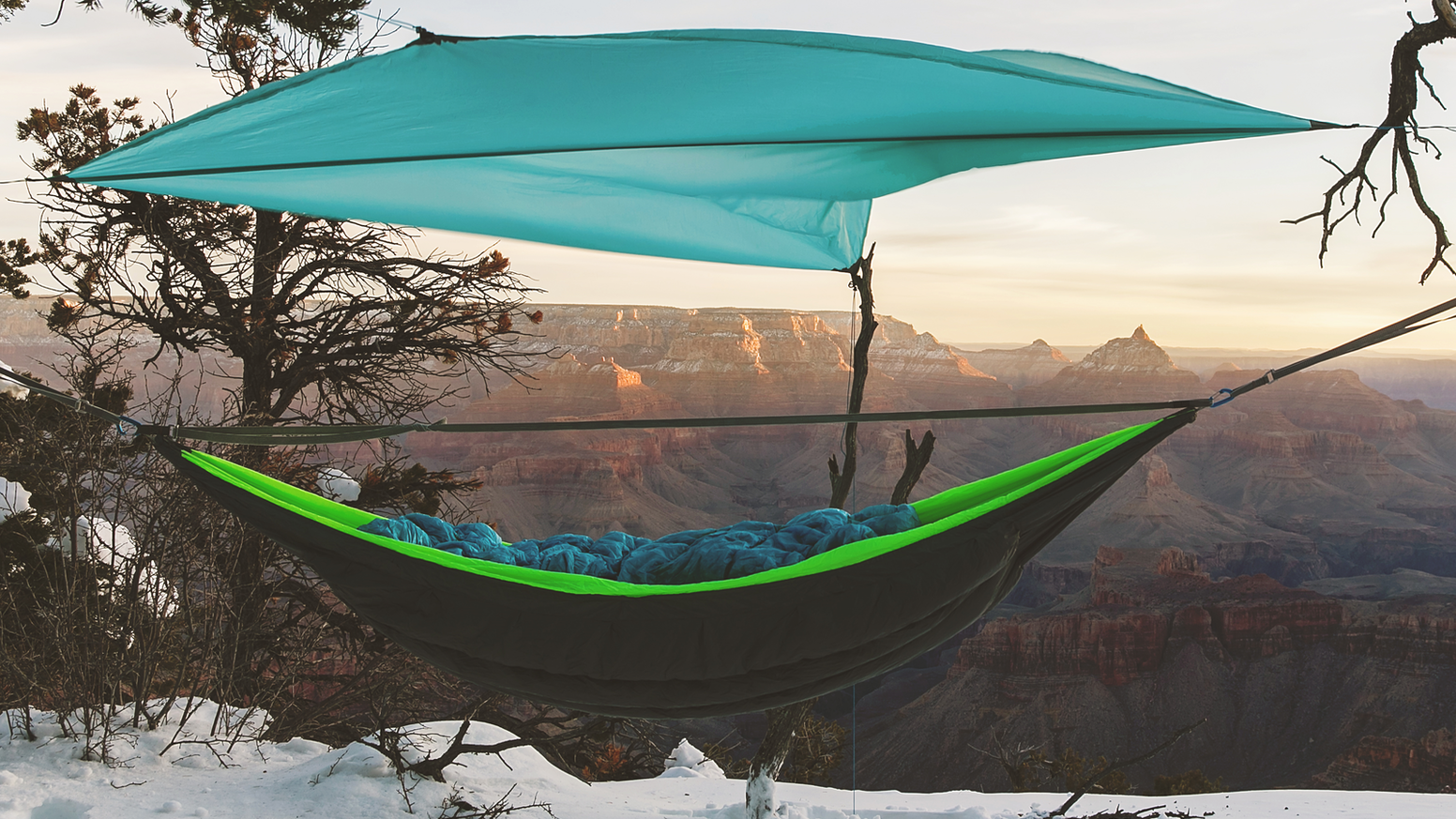 Performance Down-filled Hammock System | World's Lightest Hammock. 100% Made in USA. Designed Ultra-Light for you to explore everywhere