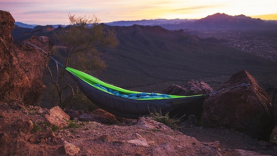 Superior Hammock | The coziest outdoor sleep you've ever had