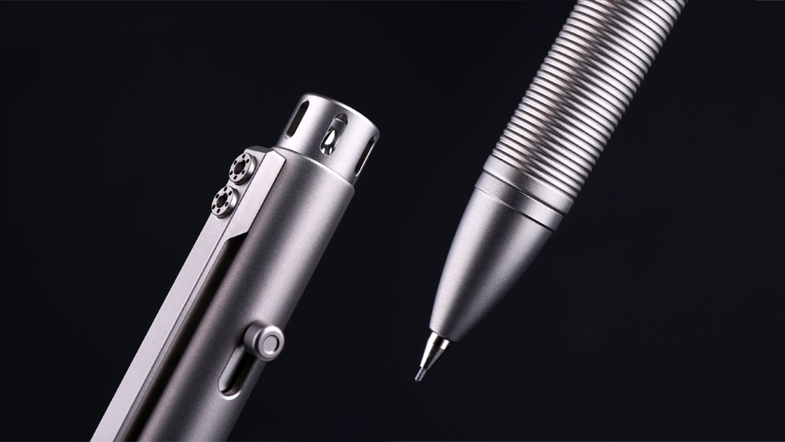 The best-made titanium pencil in the world.