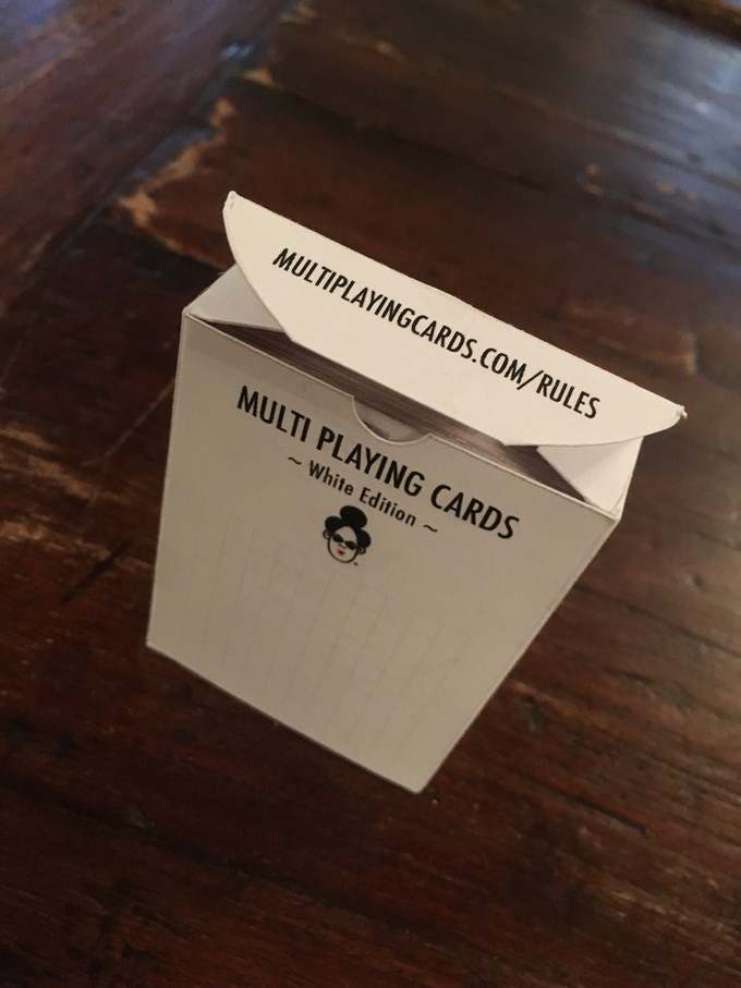 Multi Tuckbox - Multi Playing Cards Rules