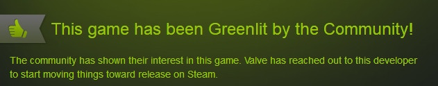 Greenlit by the community