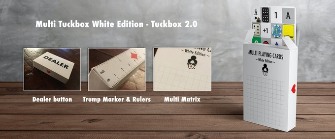 Include Multi Tuckbox White Edition - Tuckbox 2.0