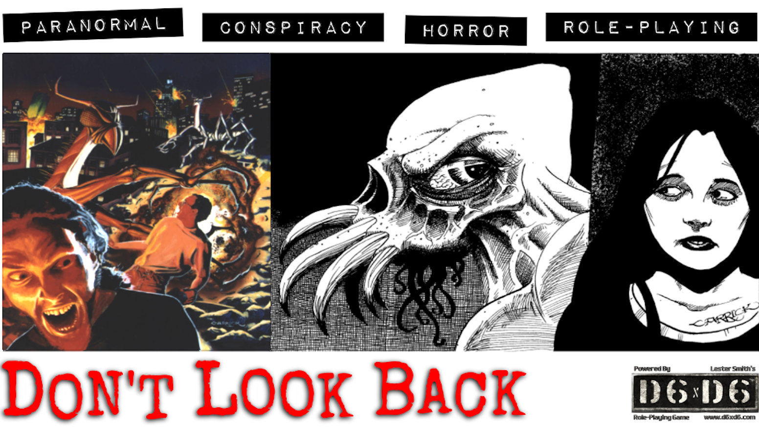 175 Backers helped bring a new edition of this classic game out in 2018! The Kickstarter is over but the new third edition of Don't Look Back is already available featuring an updated and expanded rulebook!