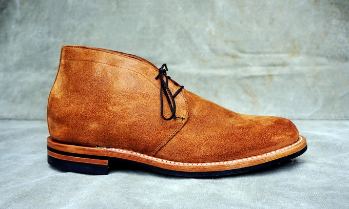 M&R Street Boot - Seidel Brown Suede with Dainite Sole