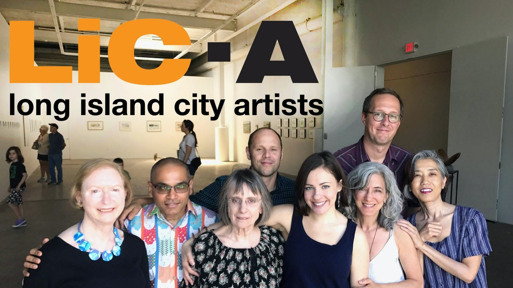 Long Island City Artists and The Plaxall Gallery project video thumbnail