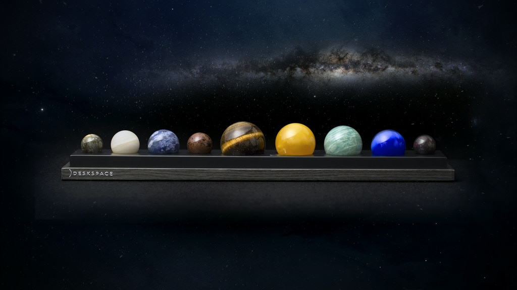 DeskSpace: Handcrafted Solar System Desk Accessory project video thumbnail