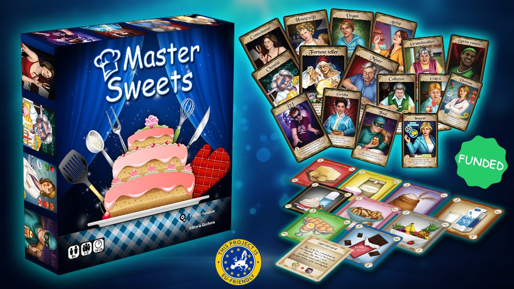 MasterSweets: The Card Game project video thumbnail