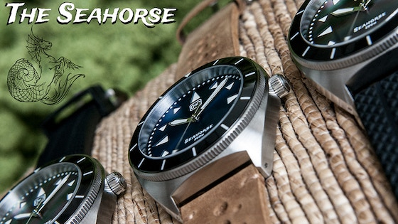 DIEWALD.WATCH - The Seahorse 200m Divers Watch (REVISED)