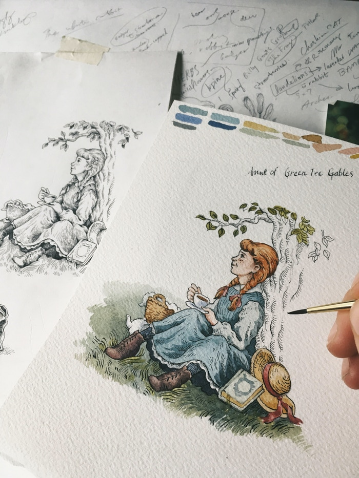 We're super close to the next Stretch Goal: Anne of Green Tea Gables