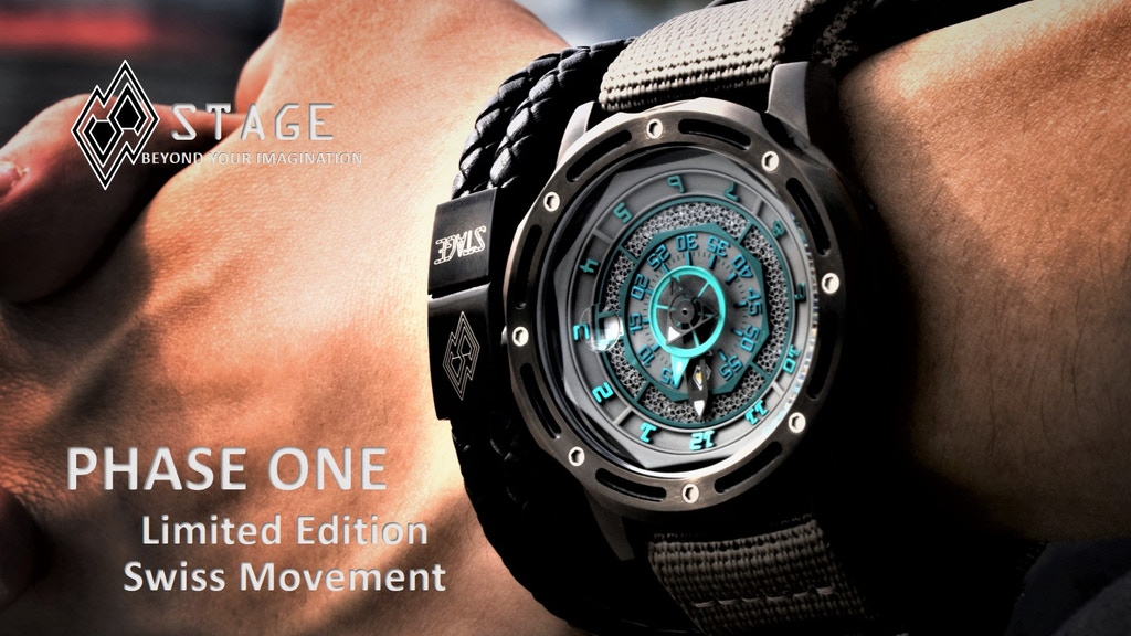 STAGE WATCH - Limited Edition - Swiss movement project video thumbnail