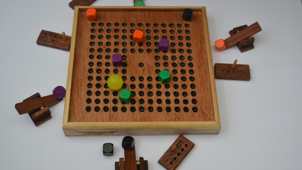 Carreau. 50 beautiful, unique, hand made wooden games. project video thumbnail