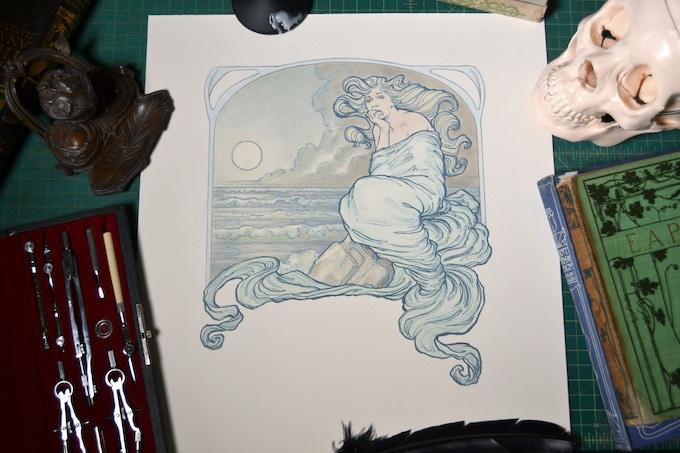 Annabel Lee Original Artwork