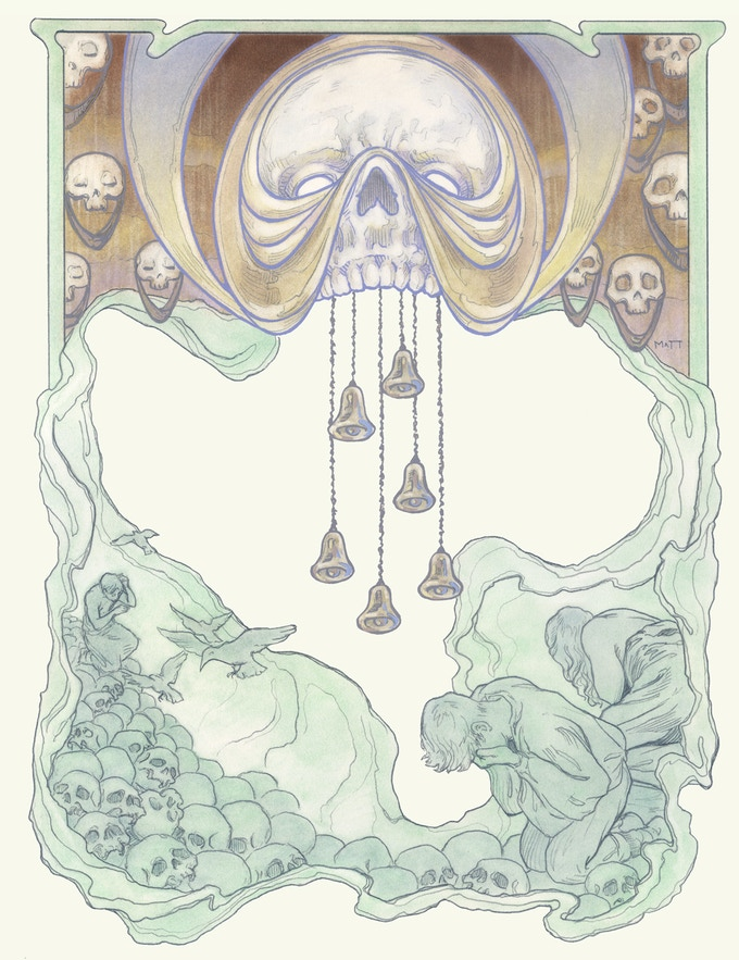 THE BELLS End page Artwork