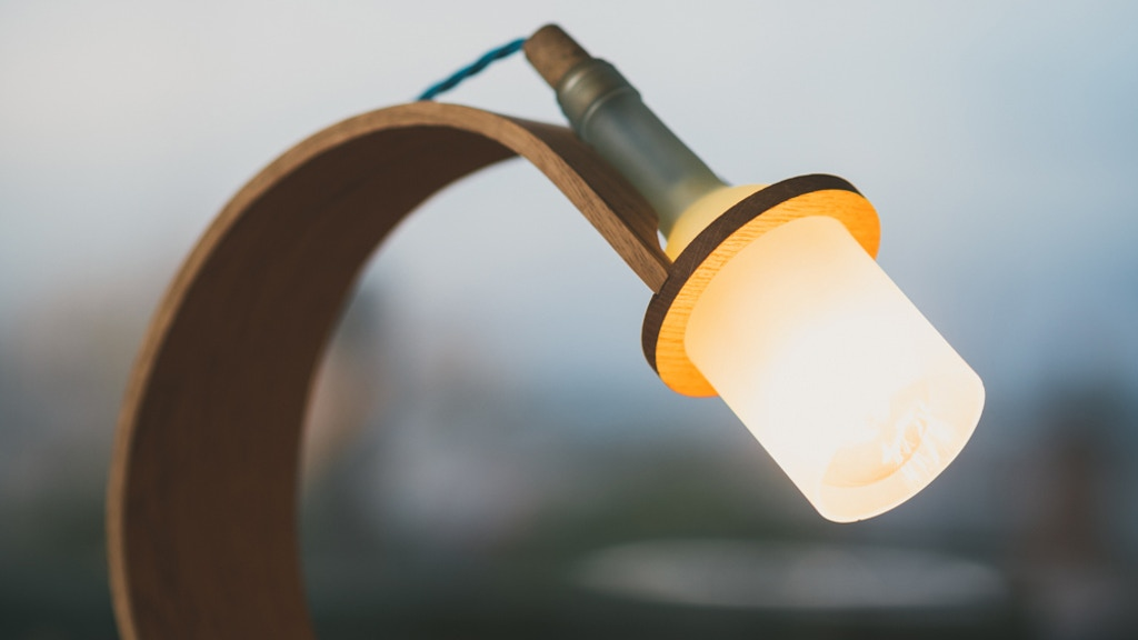 Quercus - a sustainable lamp, made from waste. project video thumbnail