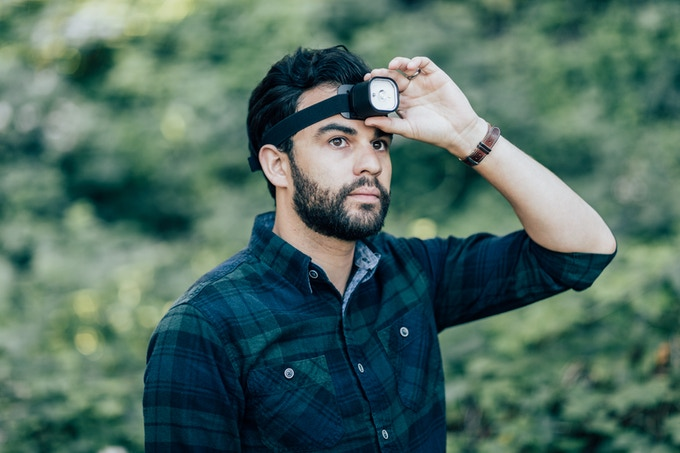 use PAL as a headlamp for hands free illumination
