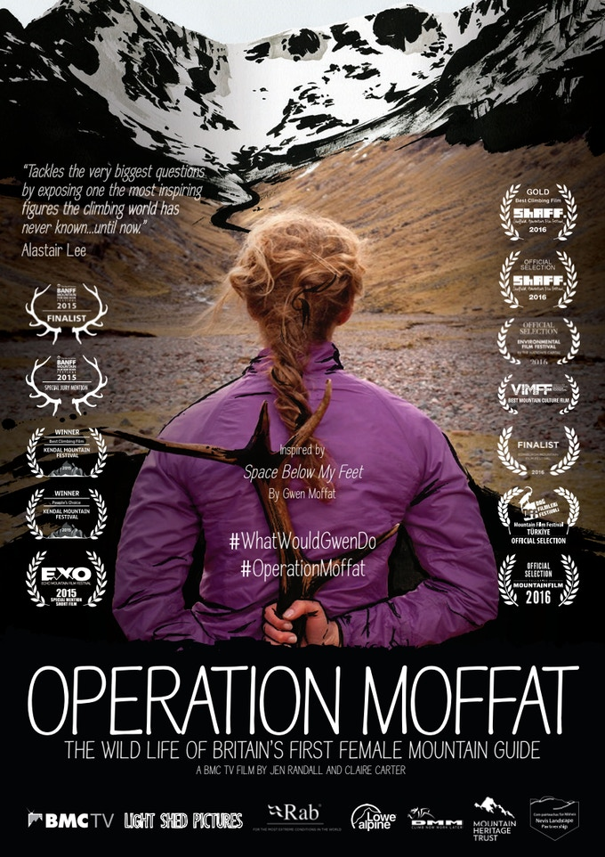 Poster for Operation Moffat, one of Jen's award winning films, up for grabs