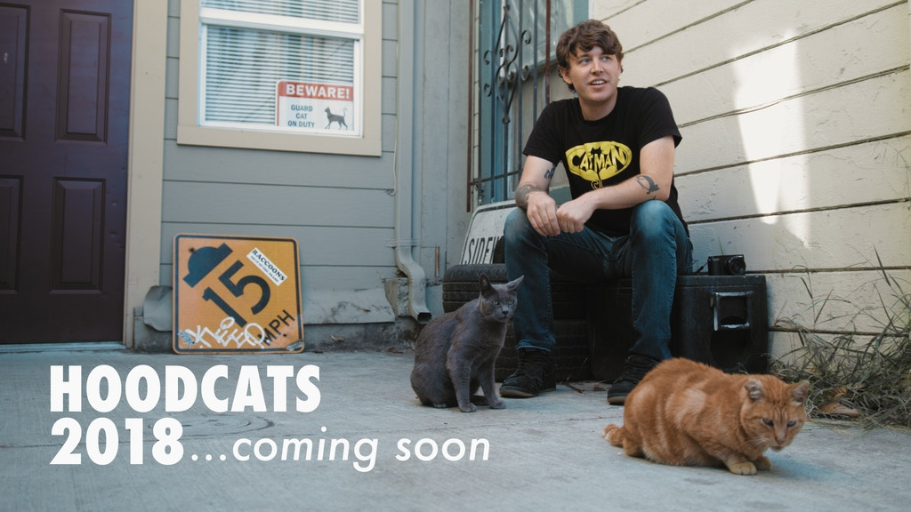 2018 Hoodcats Calendar by The Cat Man of West Oakland project video thumbnail