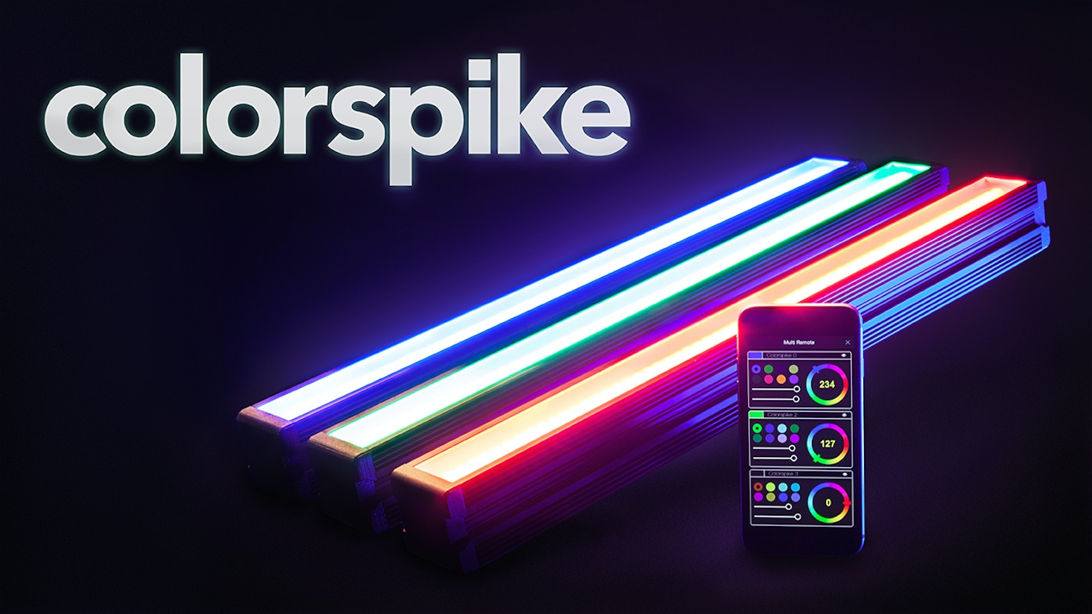 Colorspike Create In Color By Bitbanger Labs Kickstarter How To Build Dancing Leds