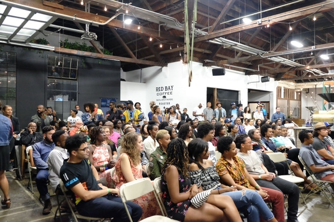 Community Gathered at Third Space Live Event
