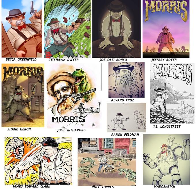 Morris prints available