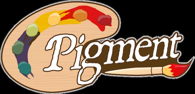 Pigment board game logo