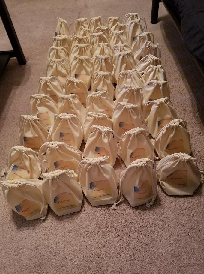 The original 50 bags of Pigment