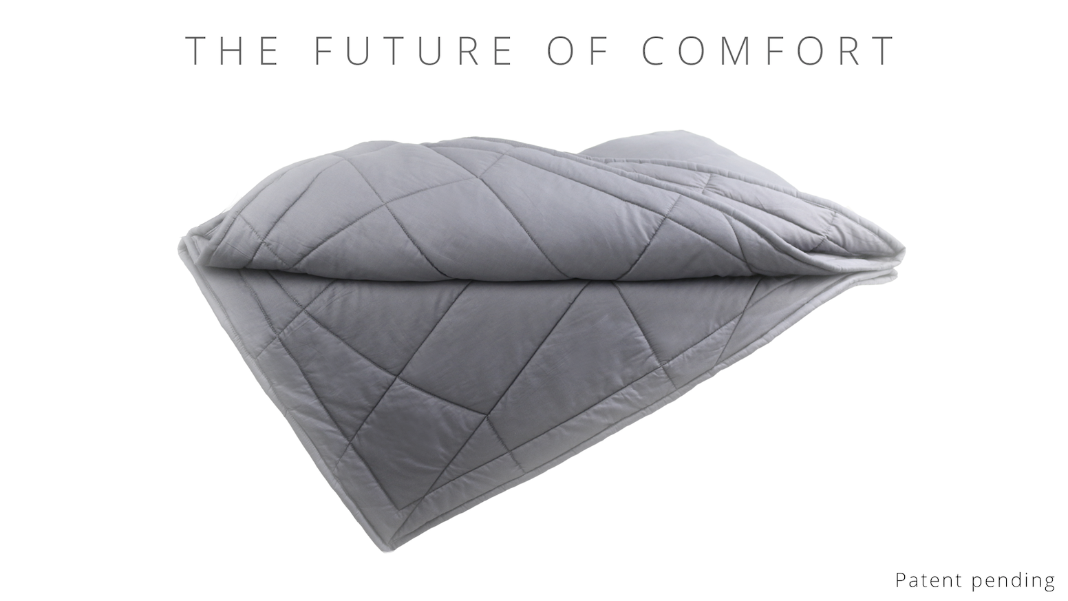 All natural deep pressure stimulation blanket engineered to deliver  relaxing calm for sleep 570200d8a