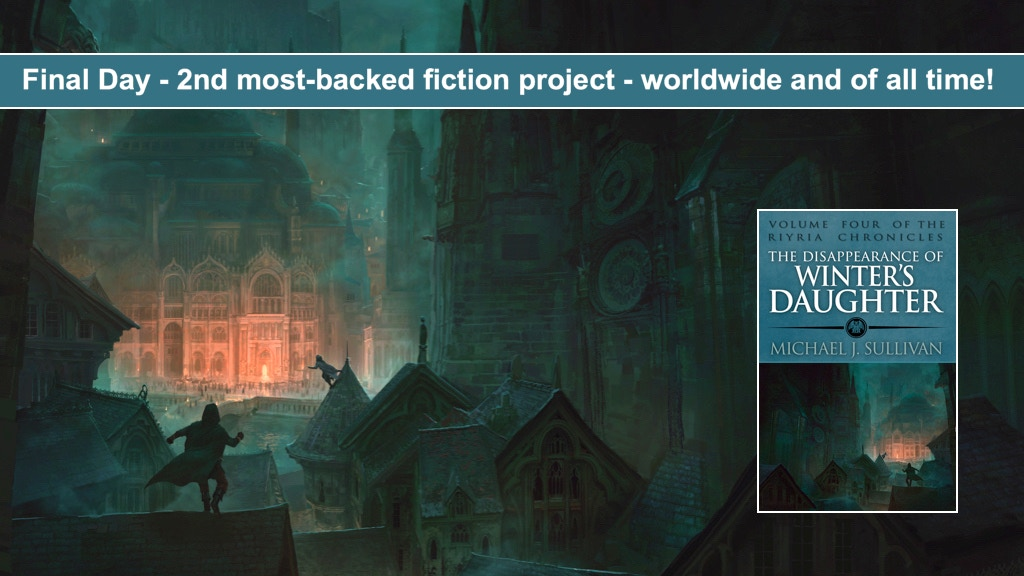Riyria Fantasy Novel: Disappearance of Winter's Daughter project video thumbnail