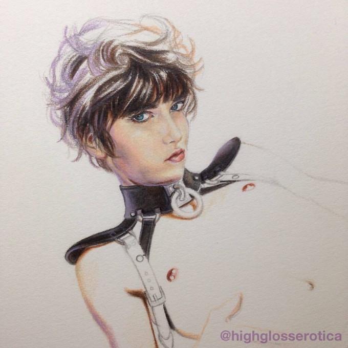 Synaesthetics Illustration Work in Progress