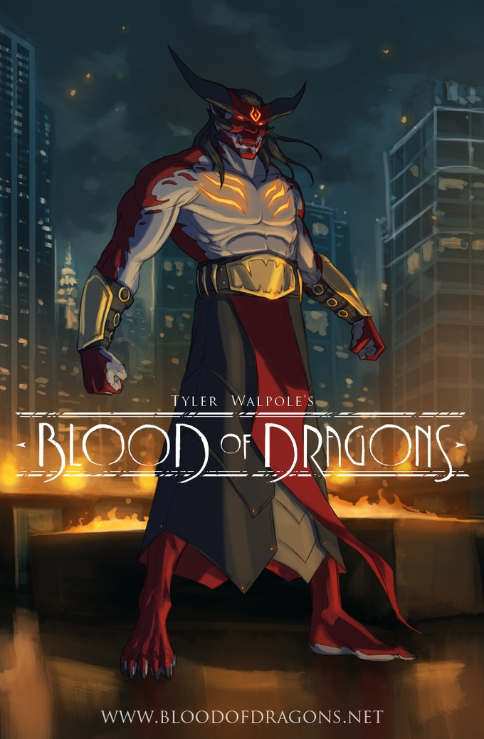 Dragonlord Sinn is the main villain in the first story arc of the comic.