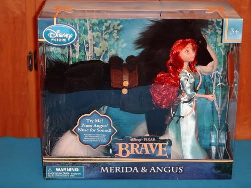 Merida and Angus doll set - from Brave