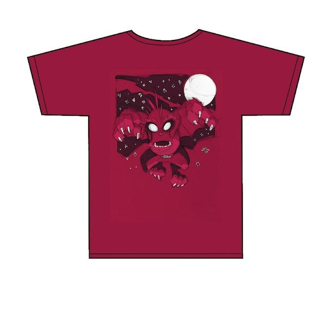 limited edition kickstart backer CHOOPIE t-shirt