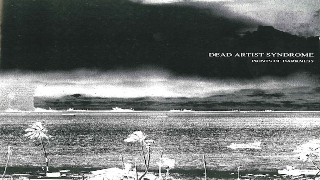 """Reissue Dead Artist Syndrome's """"Prints Of Darkness"""" project video thumbnail"""