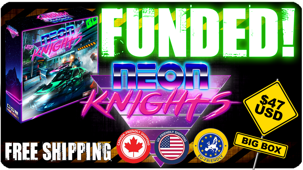 Neon Knights - The Board Game project video thumbnail