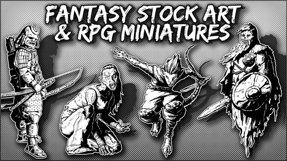 Fantasy Stock Art & RPG Minis