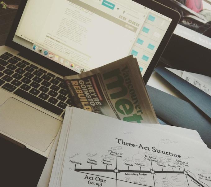 Writing draft 3 of Rebuild