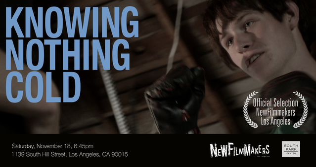 knowing nothing cold a new feature film by jeff kao by jeff kao