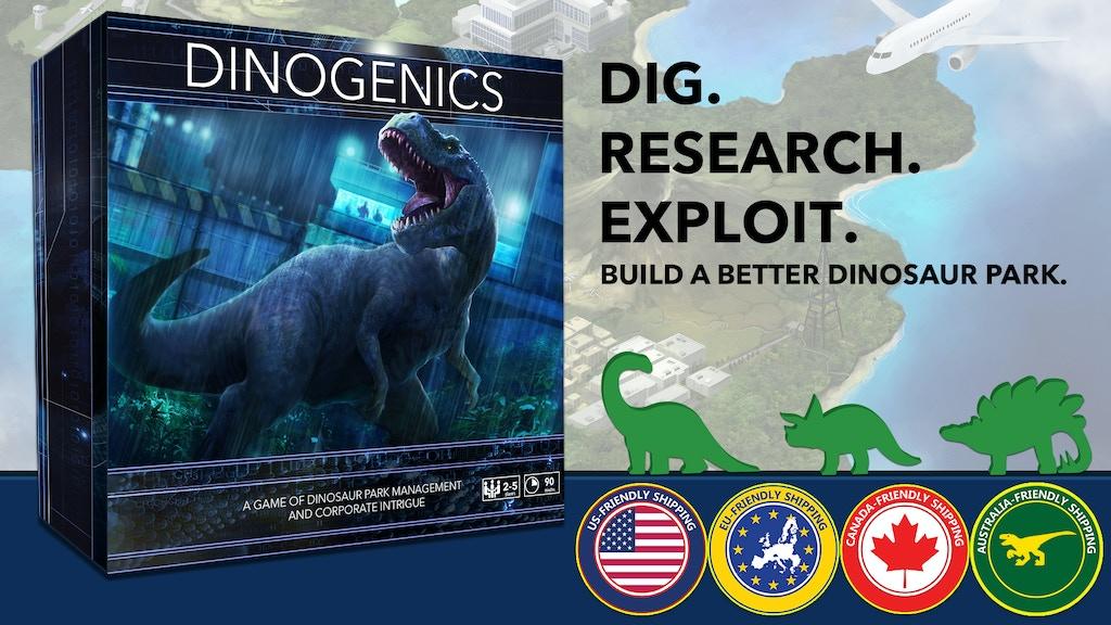 DinoGenics: Dinosaur Park Management project video thumbnail