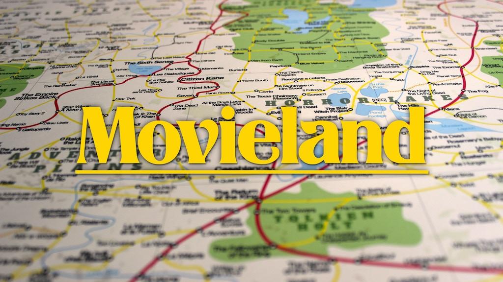 Miniature de la vidéo du projet The Great Map of Movieland (Poster)
