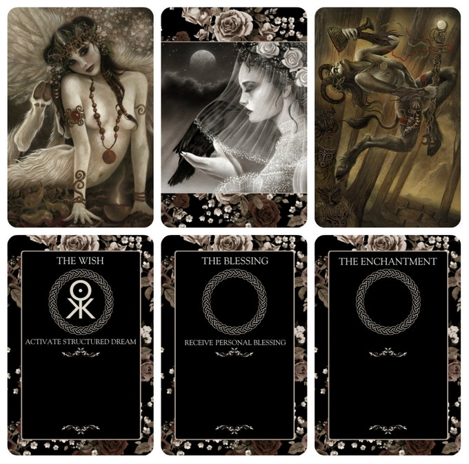 Spell Cards (Fronts and Backs)