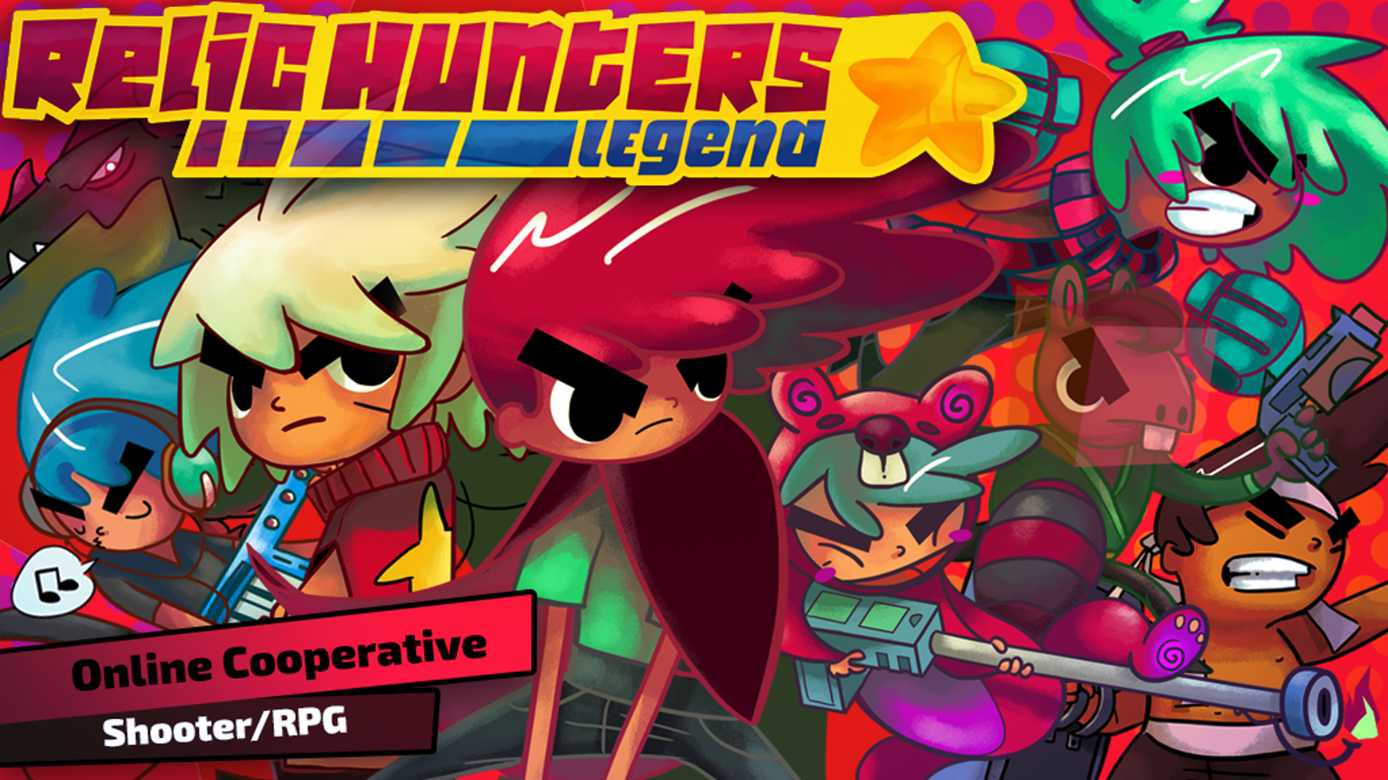 Relic Hunters Legend - Online Cooperative Shooter/Looter/RPG by