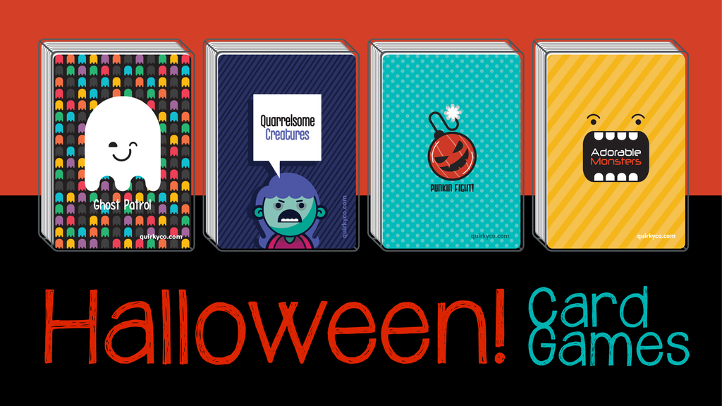 Project image for Quirky Awesome Halloween Card Games (Canceled)