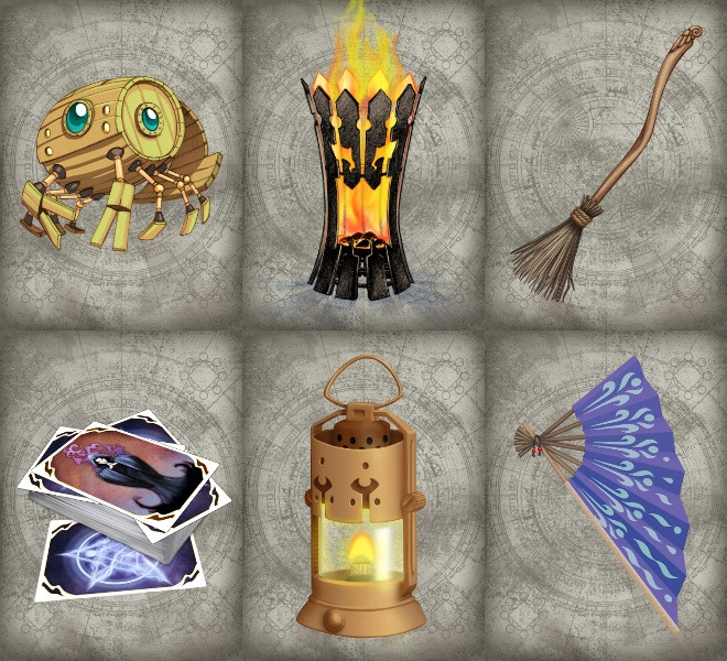 Magic Item Card Catalog: 5e Fantasy Reference Cards by ... - photo#50